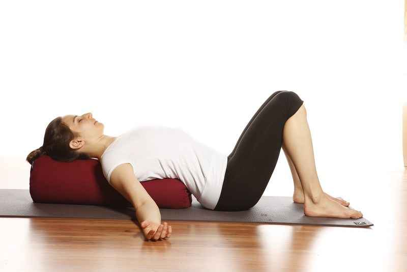 The Benefits Of Using Yoga Bolsters For Restorative Yoga