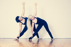 Socialize your yoga friends