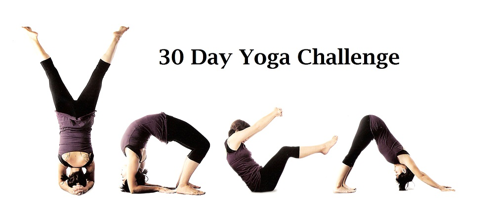 My 30 Day Yoga Challenge