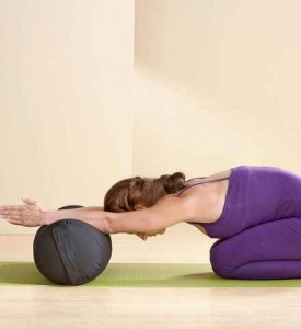latest trend organic bolsters as restorative yoga props