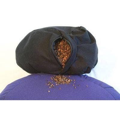 Meditation cushion- Buckwheat hull filled