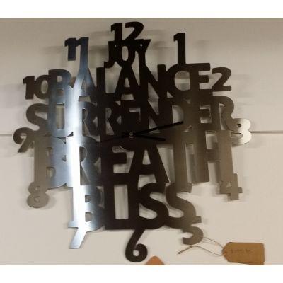 Stainless Steel Bliss Clock