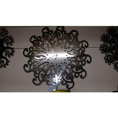 Stainless Steel Designer Clock