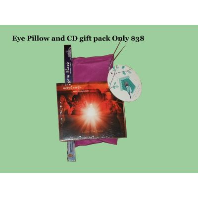 Eye Pillow and CD Gift Pack