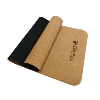 Yoga King's Natural Rubber with CORK mix Mat 5mm thick