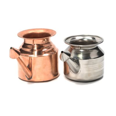 Large Neti Pot - Stainless Steel/copper