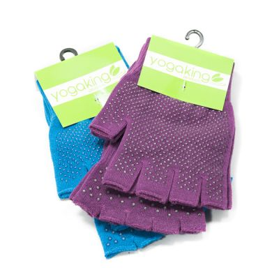 Yoga King Super Grippy Yoga Socks & Gloves Set