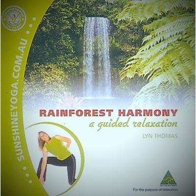 MEDITATION Rainforest Harmony CD by Lyn Thomas