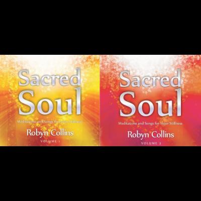 Sacred Soul by Robyn Collins Voli 1 & Vol 2