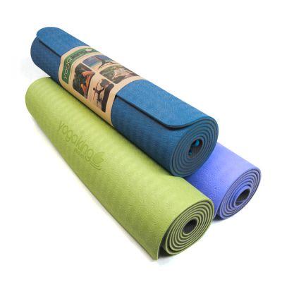 Yoga King TPE Hi-Density Foam Rubber 6mm Yoga Mat