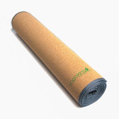 Yoga King Eco natural Cork with TPE base 4mm yoga Mat
