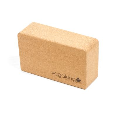Natural Cork Yoga Block - Bevel edge