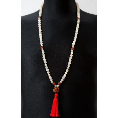 Moon Stone Mala - Prayer Beads
