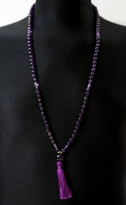 Amethyst Mala - Prayer Beads